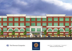 Fairfax Corner Commons East: Building Rendering