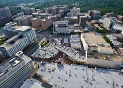 Downtown Silver Spring: Aerial of Downtown Silver Spring