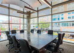 163 Waterfront Street - National Harbor: Suite 300 - Conference Room overlooking Waterfront Street