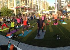 163 Waterfront Street - National Harbor: Weekly Fitness classes on National Plaza