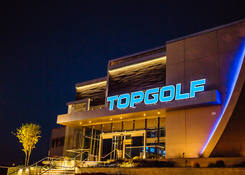 Commonwealth Center: TOPGOLF