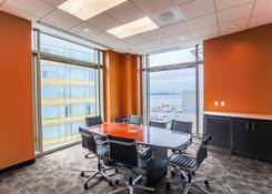163 Waterfront Street - National Harbor: Suite 450 - Conference Room overlooking marina