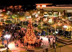 Fairfax Corner: Fairfax Corner Tree Lighting